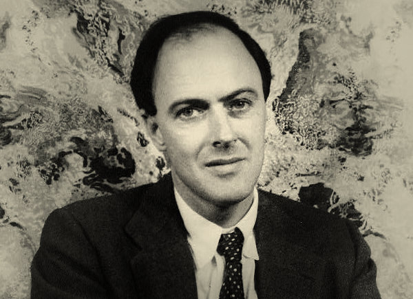 Roald Dahl photographed in April 1954 by Carl Van Vechten
